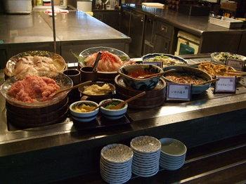 ラビスタ函館ベイの朝食 海鮮丼