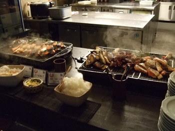 ラビスタ函館ベイの朝食 焼き物