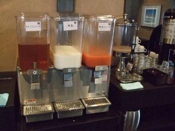 ラビスタ函館ベイの朝食 飲み物